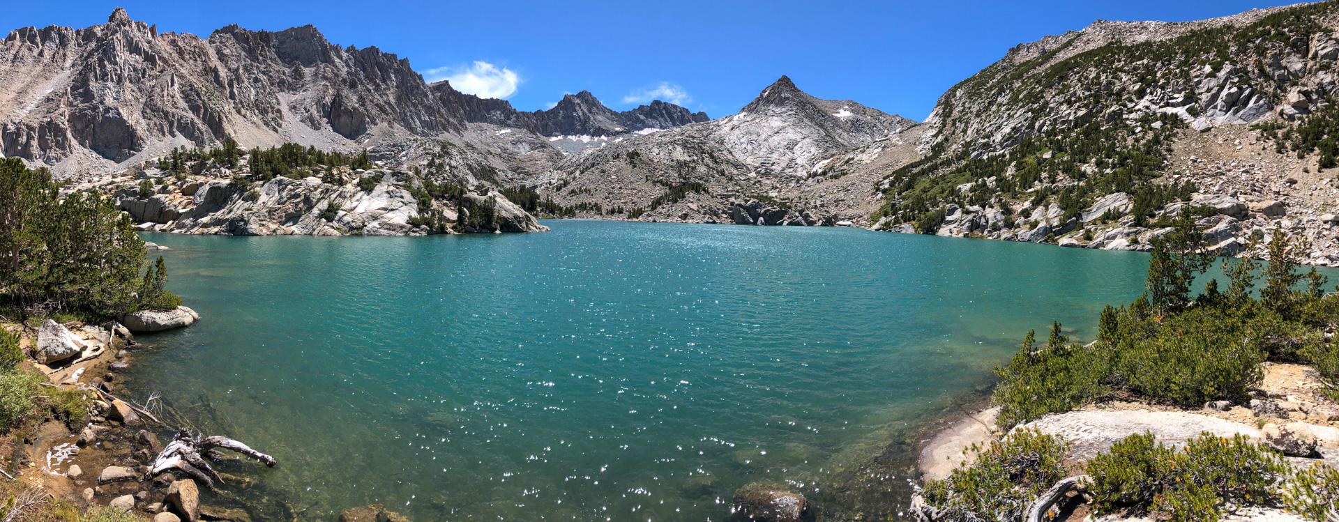 Panorama of Baboon Lakes
