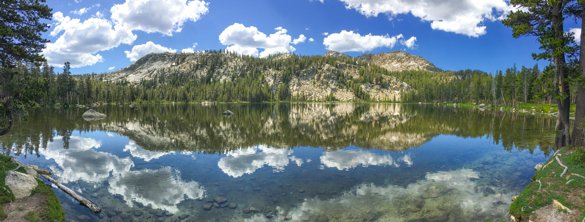 South Lake on Dinkey Lakes Trail